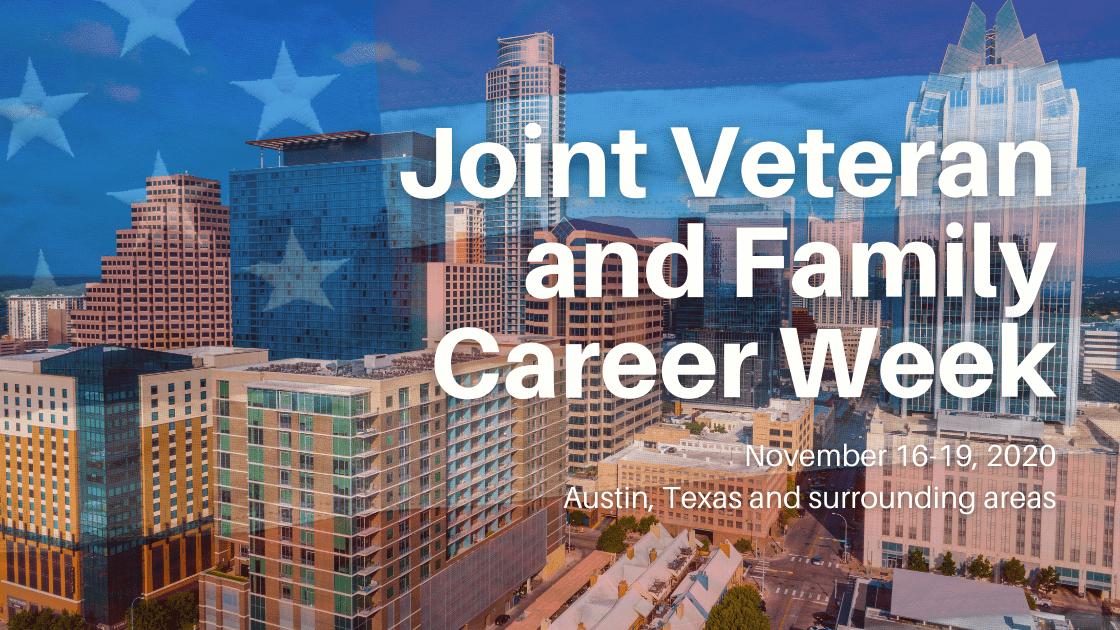 Joint Veteran & Family Career Week