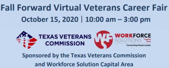 Fall Forward Virtual Veterans Career Fair