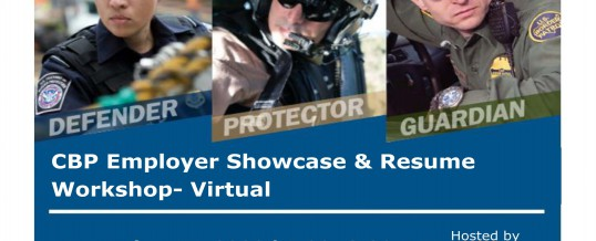 Customs and Border Federal Virtual Resume Class