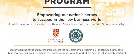 Free Veterans Entrepreneurship Program