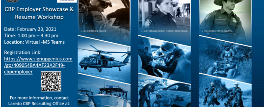 U.S. Customs and Border Protection Employer Showcase