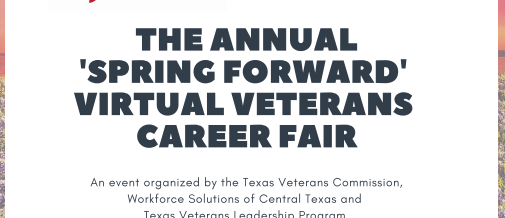 Spring Forward Virtual Veterans Career Fair