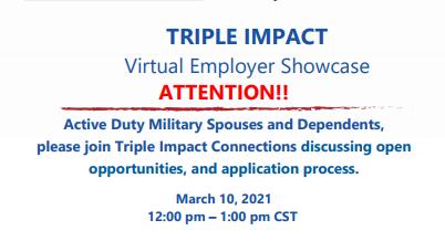 Employer Showcase: Triple Impact