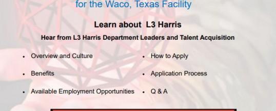 L3 Harris Virtual Employer Showcase