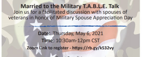 Married to the Military T.A.B.L.E. talk