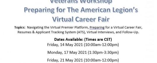 Virtual Veterans Workshop