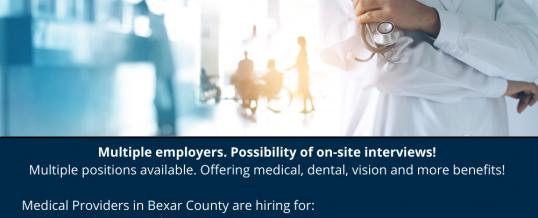 Healthcare Job Fair, San Antonio (In-person)