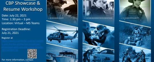 Customs & Border Protection Employer Showcase & Resume Class