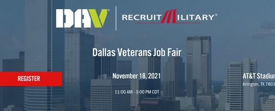 Dallas-DAV Recruit Military