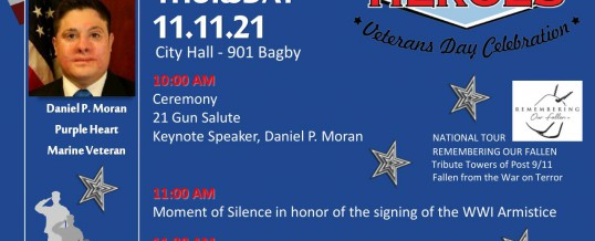 Houston Salutes American Heroes Veterans Day Celebration